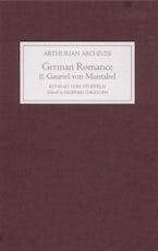 German Romance II: Gauriel von Muntabel by Konrad von Stoffeln