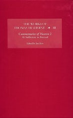 The Works of Thomas Traherne III