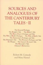 Sources and Analogues of the Canterbury Tales: vol. II [pb]