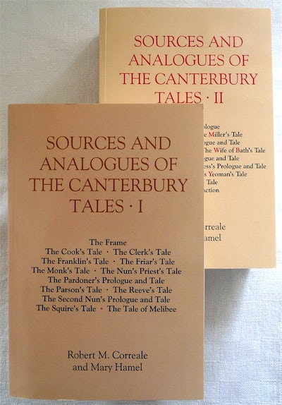 Sources and Analogues of the Canterbury Tales [pb set]