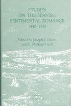 Studies on the Spanish Sentimental Romance (1440-1550): Redefining a Genre