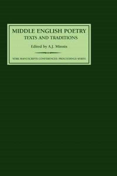 Middle English Poetry: Texts and Traditions