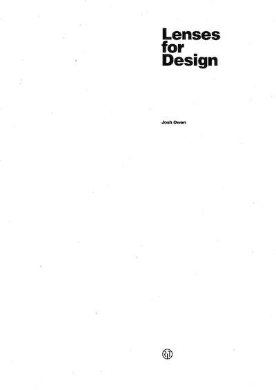 Lenses for Design